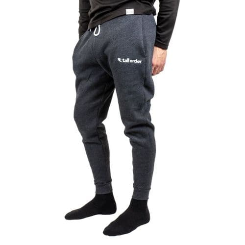 """Tall Order Embroidered Logo Joggers - Dark Grey Heather Small 28-30"""""""